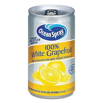 Ocean Spray 100% Juice White Grapefruit 5 1/2 oz Can 00866