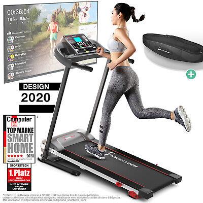 Sportstech F10 Cinta de Correr modelo 2020- Marca de Calidad Alemana -
