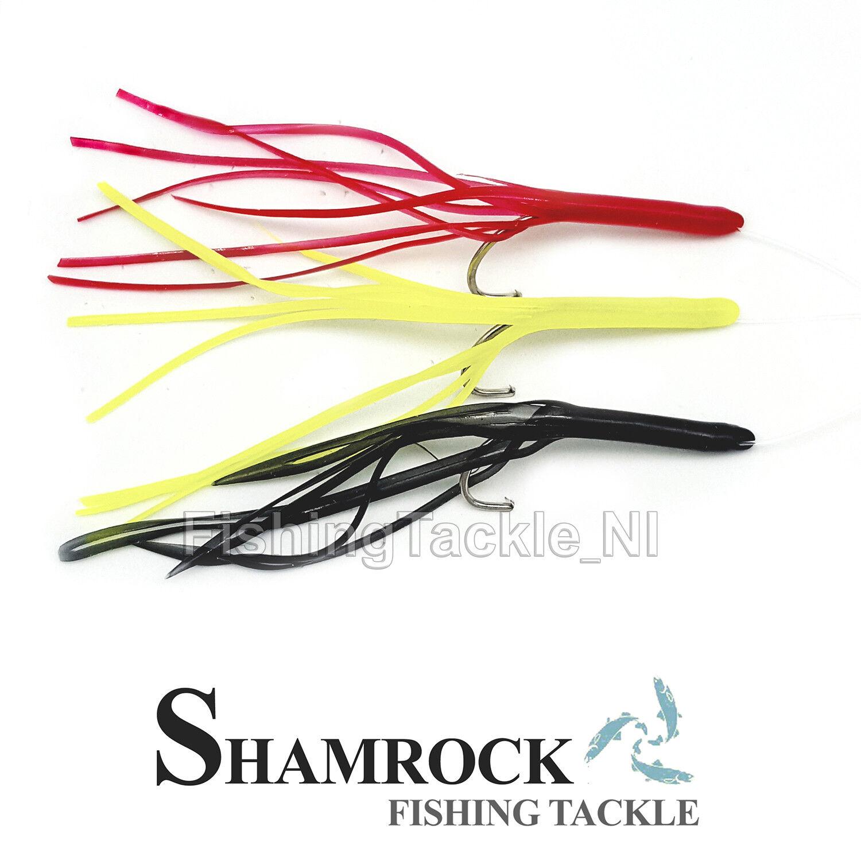 Shamrock Irish Tackle Munster Mawlers Sea Fishing Rigs 50lb Mainline Size 3//0