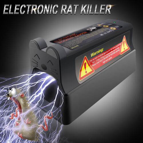 Electronic Rat Trap Mouse Mice Zapper Rodent Killer Victor C