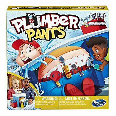 Hasbro Gaming Plumber Pants Game for Kids Ages 4 and Up Kid