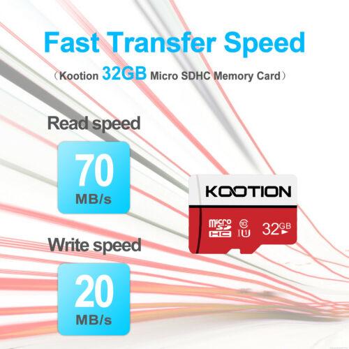 2 Pack 32GB 64GB 128GB Micro SD Card SDXC Class 10 Memory Ca