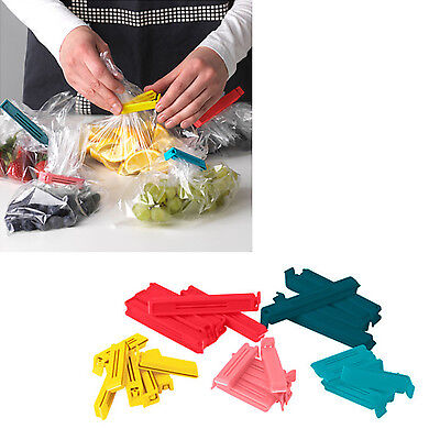 "x 30 clips Ikea Food Kitchen Storage Bag Sealing Clips BEVARA 2.36"" & 4.33"""