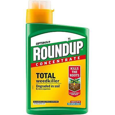 Roundup Weed Killer 1 Liter Concentrate Kills Weed Weedkiller 1L Kills Roots UK