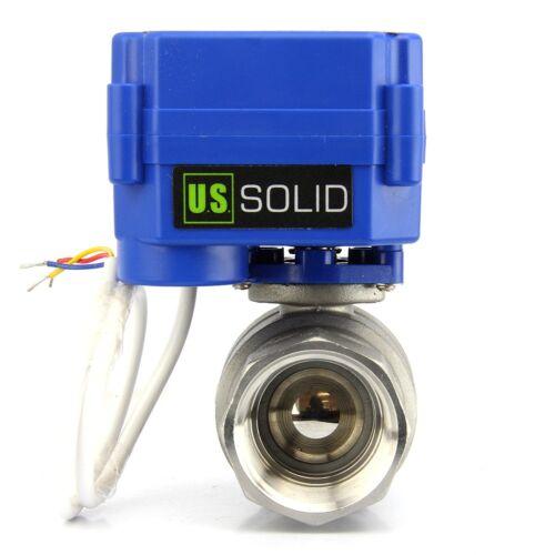 """1"""" Motorized Ball Valve Stainless Steel Electric Valve 9V 12V to 24 V, 3 wire"""