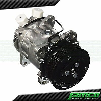 New SD508 Sanden Style AC Compressor 7 Groove Serpentine 3/4