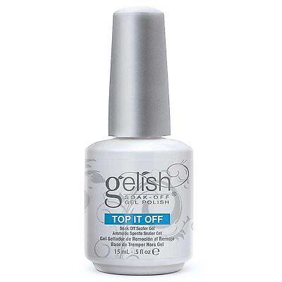 Nail Harmony Gelish UV Soak Off Gel Top It Off 0.5 fl oz 15ml Top Coat