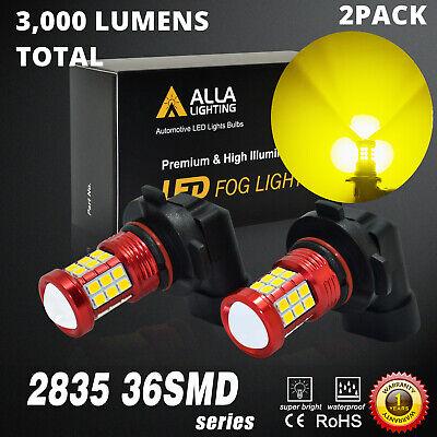 LED Golden Yellow Fog Light Bulb For 2004-2006 Ford F-150 Front Left & Right 2Pc