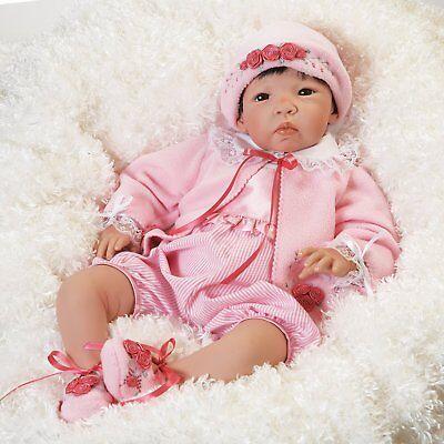 "Lifelike Realistic Asian Newborn Weighted Baby Girls Doll ""Nischi"" Alive Reborn"