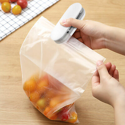 Portable Mini Electric Heat Sealer Sealing Machine Household Plastic Bag Cutter