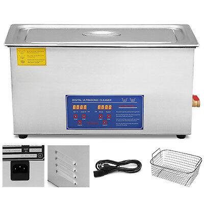 22l Digital Ultrasonic Cleaner Kit Ultra Sonic Bath Timer Jewellery Cleaning