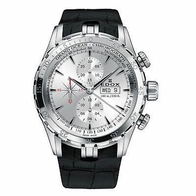 Edox 01121 3C AIN Men's Grand Ocean Silver Automatic  Watch