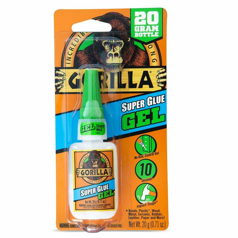 gorila super glue gel 20 g claro