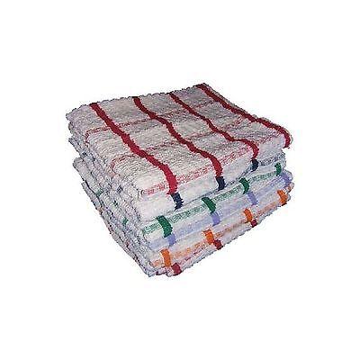 12 x Jumbo Tea Towels, Professional Catering Grade Kitchen Tea Towels Dish Cloth