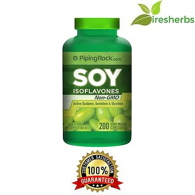 - NON-GMO SOY ISOFLAVONES 650MG BONES HEART WOMEN'S MENOPAUSAL SUPPLEMENT 200 CAPS