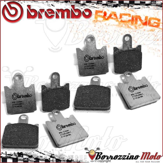 FRONT BRAKE PADS BREMBO RC CARBON RACING 07KA28RC KAWASAKI ZX-6R 600-NINJA 2010
