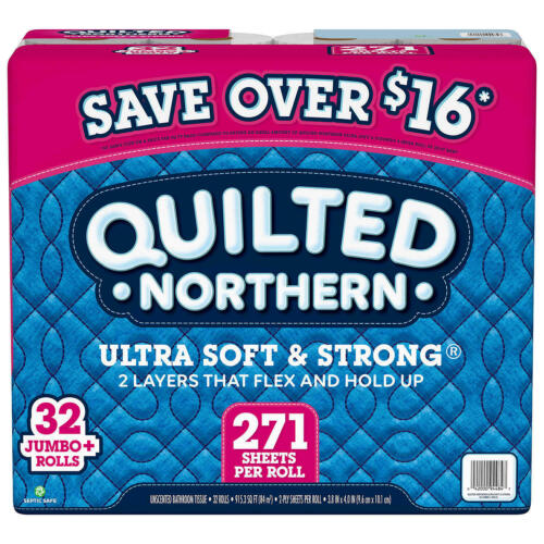 Quilted Northern Ultra Soft and Strong Toilet Paper (271 sheets/roll, 32 ct.)