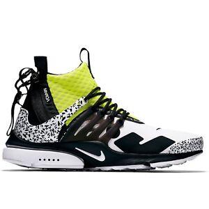 Nike x Acronym Presto - Yellow - Size 10 & 11