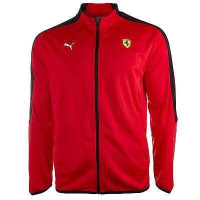 Puma Men's Scuderia Ferrari T7 Track Jacket -  Mens