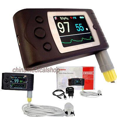 Cms60c Pulse Oximeter Spo2 Oxygen Real-time Data Transmit Usb Free Pc Software