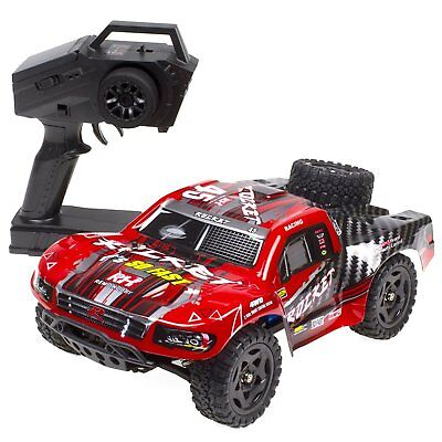 REMO 1/16 RC Truck Car 50KM/h 2.4G 4WD Waterproof Brushed Short Course SUV 1621