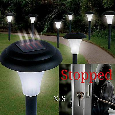 Bright Solar Garden Lights Led Outdoor Landscape Yard Lighting Fixture Kit Best
