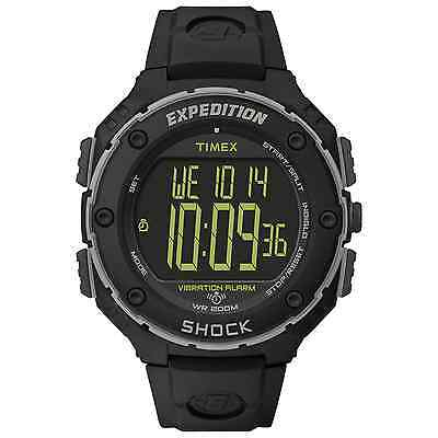 Timex T49950, Men's Expedition Vibrating Alarm Watch, Indiglo, Chronograph