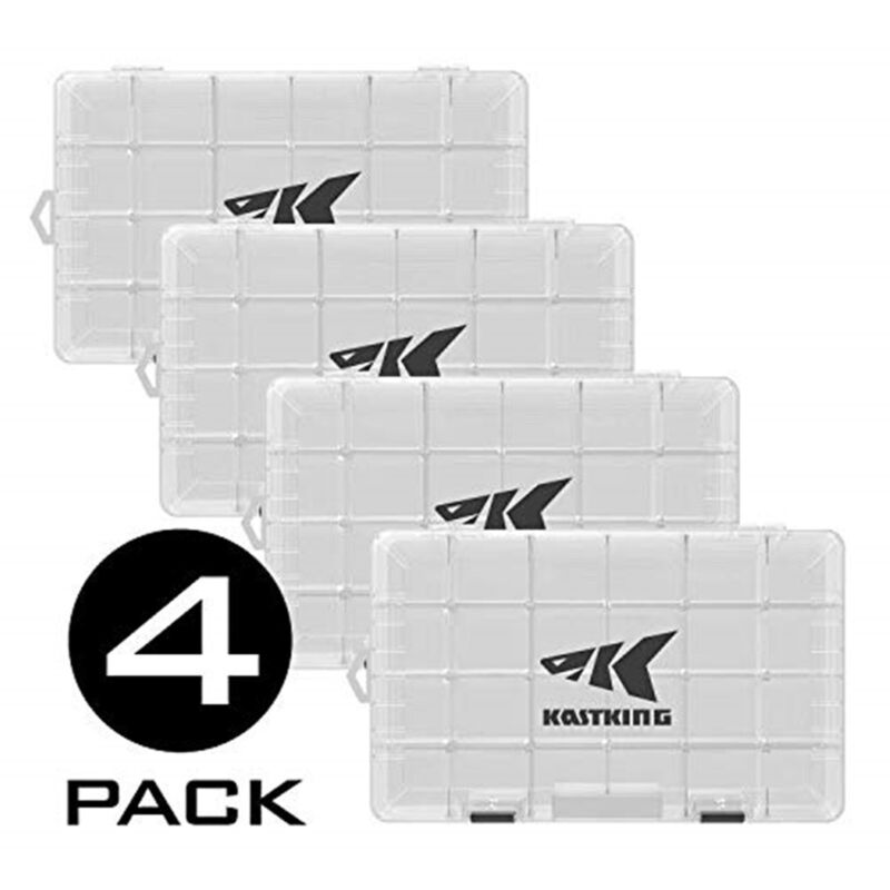 KastKing Tackle Box 4 Packs Utility Tray 3600 3700 Fishing Tackle Storage