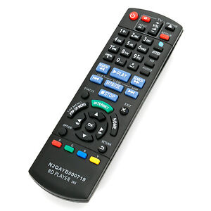N2QAYB000719 New Replaced Remote for Panasonic Blu-ray Disc Player DMP-BDT220CP
