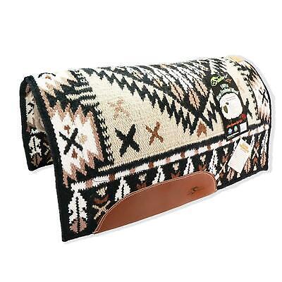 Wool Horse Show Blanket Reinmaker Navajo Saddle Pad 100% New Zealand Wool Top Bl Saddle Blanket Horse Show Pad