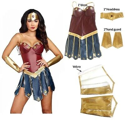 Christmas Costumes For Ladies (Halloween Christmas Costumes For Women Adult Wonder Woman Girls Cosplay &)