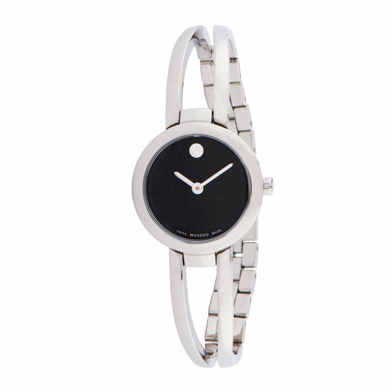 Movado-0607131-Women-Amorosa-Black-Quartz-Watch
