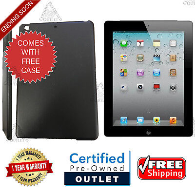 Apple iPad 4th Generation 16GB --- Wi-Fi Only --- Black USA Trusted Seller