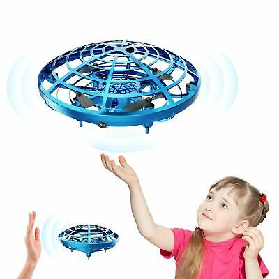 360° Mini Drone Smart UFO Aircraft for Kids Flying Toys RC Hand Control Xmas US~