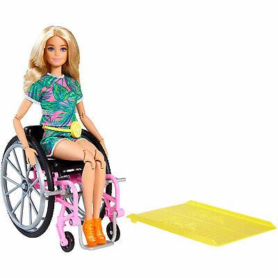 Barbie Fashionistas Muñeca (Rubia) Con Silla de Ruedas #165 Nuevo