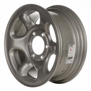 64229 Refinished Isuzu Rodeo 2000-2004 16 inch Silver Steel Wheel, Rim OE
