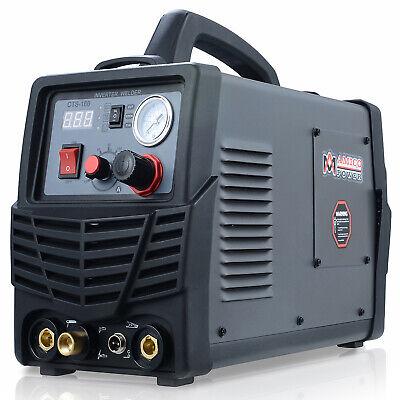 Cts-160 160 Amp Tig-torch Stick Arc Welder 30 Amp Plasma Cutter 3-in-1 Combo