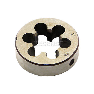 New 1-24 Uns Right Hand Thread Die 1 - 24 Tpi Threading Cutting Tool
