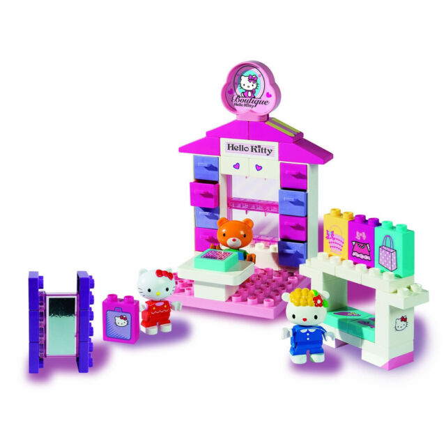 Big 57027 - PlayBIG Bloxx Hello-Kitty Boutique inkl. Figuren NEU/OVP