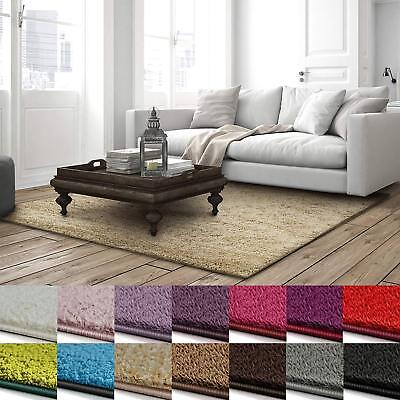 BARCELONA Shaggy Läufer Teppichläufer Teppiche Breite 80cm 14 Farben Made in