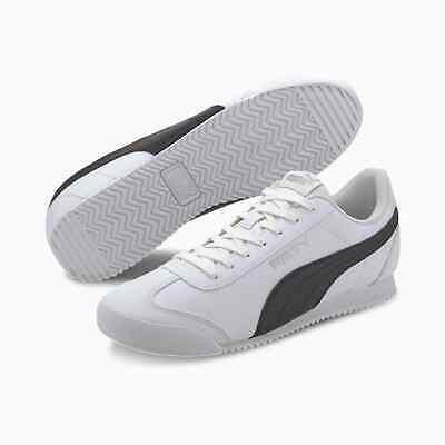 Puma Men's Turino SL Sneakers   White/Black   Size: 12 M US