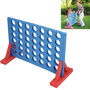 Large Jumbo Connect 4 Four Line Up In A Row Line Board Game Family Kids Indoor O