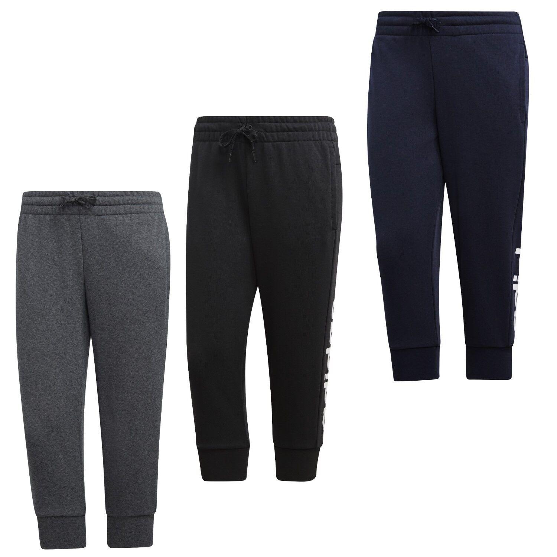 3db5a4e3a5b5bf adidas sport 3 4 Hose Damen Tight Sporthose Jogginghose Sweathosen schwarz  S-XXL