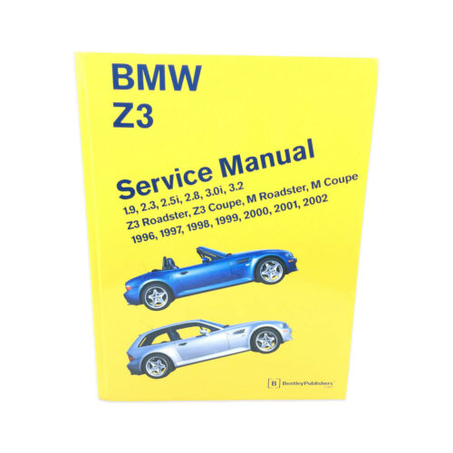 For OE Bentley Diagram Book Repair Guide Service Manual for E36 For BMW Z3/Z3M