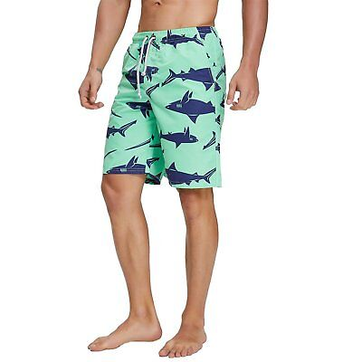 Men Swim Trunks Best Printed Summer Beach Surfing Board