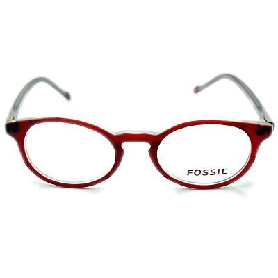 Fossil Brille Brillengestell Rahmen Top modisch selten Walnut Red OF4079600