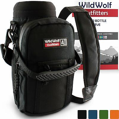 Wild Wolf Outfitters - #1 Best Water Bottle Holder for 40 oz