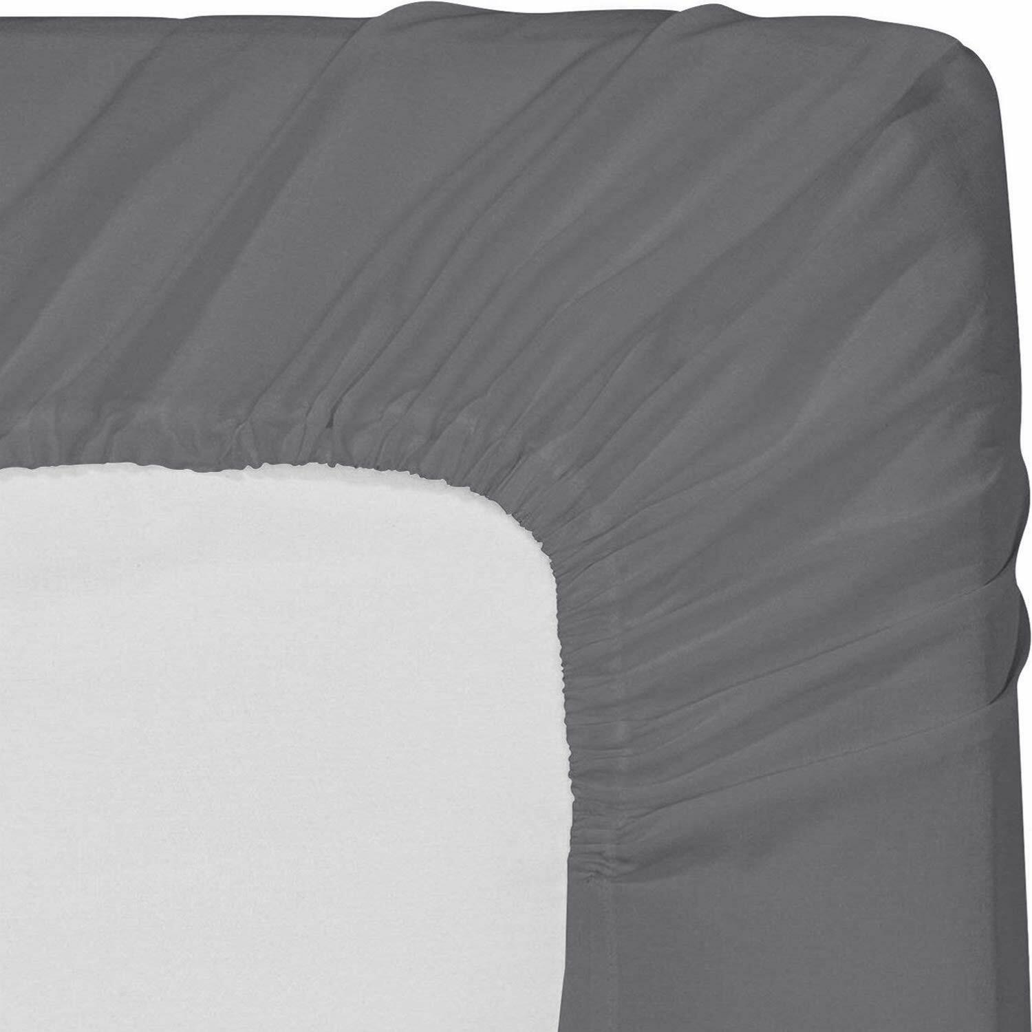 1 queen fitted sheet brand new bright white ultra brushed microfiber hotel sheet