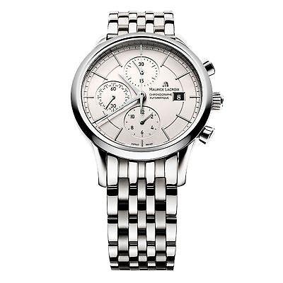 Maurice Lacroix LC6058-SS002-130-1 Men's Les Classiques  Silver Automatic  Watch 130 Maurice Lacroix Watches
