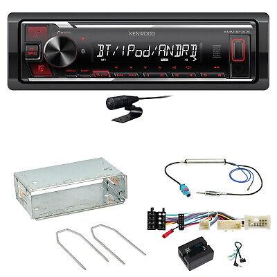 Kenwood KMM-BT205 Bluetooth USB AUX Autoradio Einbauset für Mercedes Citan W415